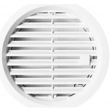 HACO VM 125 U větrací mřížka 144mm, kruhová, uzavíratelná, bílá