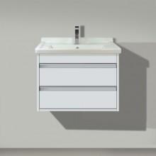 DURAVIT KETHO skříňka pod umyvadlo 650x465mm závěsná, bílá matná/bílá matná