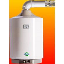 QUANTUM Q7 25 NODZ/E plynový ohřívač 95l, 2,9kW, zásobníkový, závěsný, přes zeď, bílá
