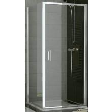 SANSWISS TOP LINE TOPF boční stěna 800x1900mm, bílá/sklo Cristal perly