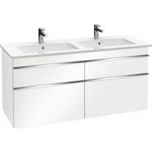 VILLEROY & BOCH VENTICELLO spodní skříňka 1253x590x502mm, Glossy White