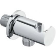 CONCEPT 300 výpusť vody 64,5mm, kulatá, s držákem na sprchu, kov, chrom