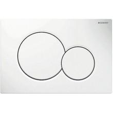 Předstěnové systémy ovládací desky - Concept Sigma01  bílá