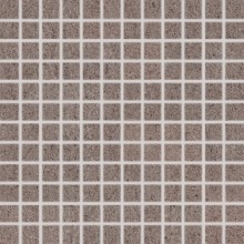 Obklad Rako Unistone mozaika  2,5x2,5 (30x30) cm hnědá