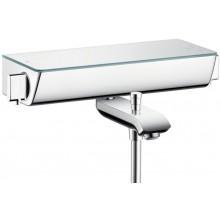 Baterie vanová Hansgrohe nástěnná termostatická Ecostat Select 150mm bílá-chrom