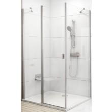 RAVAK CHROME CPS 80 pevná stěna 780-800x1950mm jednodílné, bílá/transparent 9QV40100Z1