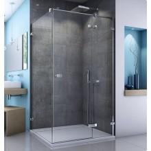 SANSWISS ESCURA EST1 boční stěna 900x2000mm se stabilizační vzpěrou, aluchrom/čiré sklo