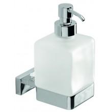 INDA LEA dávkovač mýdla 7x11x16cm, chrom/sklo