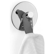 ZACK DUPLO háček na ručník Ø5cm kruhový, nerez ocel/vysoký lesk