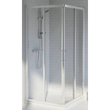 Zástěna sprchová čtverec Ideal Standard plast Tipica A/90x90 T 2359 YB 900x1850 mm Silver Brill-Sintetico-matt