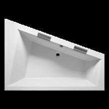 Vana plastová Riho(JVP) tvarovaná Doppio BA9100500000000 levá 180x130cm bílá