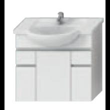 JIKA LYRA skříňka pod umyvadlo 770x315x696mm, bílá/bílý lak