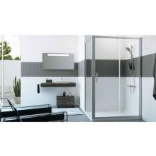 HÜPPE CLASSICS 2 SW800 boční stěna 800x2000mm pro posuvné dveře, stříbrná pololesklá/čiré