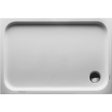 Vanička plastová Duravit obdélník D-code 110x75 cm bílá