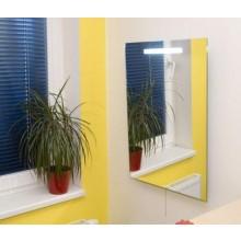 AMIRRO LUNA koupelnové zrcadlo 50x70cm, s integrovaným svítidlem