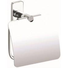 INDA STORM držák toaletního papíru 15x14cm s krytem, chrom