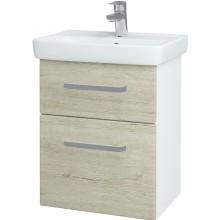 DŘEVOJAS GO SZZ2 50 koupelnová skříň 560x560x344mm, včetně umyvadla, oregon