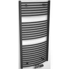 CONCEPT 200 TUBE EXTRA radiátor koupelnový 702W designový, středové připojení, antracit