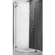 ROLTECHNIK ELEGANT LINE GRL1/900 sprchový kout 900x2000mm levý, čtvrtkruhový, s jednokřídlými otevíracími dveřmi, bezrámový, brillant/transparent