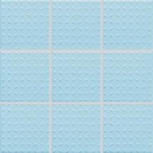 RAKO POOL mozaika 10x10cm, lepená na síťce, světle modrá