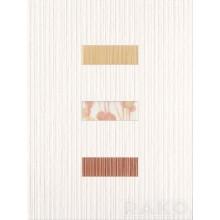 RAKO SAMBA dekor 25x33cm, bílá