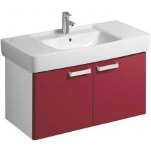 Nábytek skříňka pod umyvadlo Keramag Renova Nr.1 Plan 93x46,3x44,5 cm bílá/lesklá rubínová