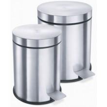 ZACK VASCA odpadkový koš 3l, pedálový, nerez ocel