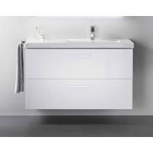 ROCA PRISMA skříňka pod umyvadlo 800x460x667mm, 2 zásuvky, vnitřní zásuvka, bílá