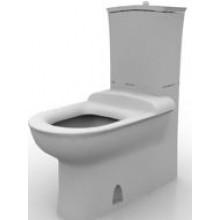 WC kombinované Ideal Standard odpad vario Tizio doprodej bílá