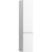 LAUFEN CASE vysoká skříňka 350x335x1650mm 4 skleněné poličky, závěsy vlevo, bílá 4.0202.1.075.463.1