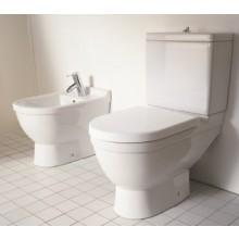 DURAVIT STARCK 3 splachovací nádrž 390x185mm s Dual-Flush, bílá/wonder gliss 09201000051