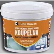 DEN BRAVEN KOUPELNA hydroizolace 13kg, jednosložková, medově hnědá