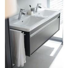 DURAVIT KETHO skříňka pod umyvadlo 800x465mm závěsná, bílá matná/bílá matná KT666401818