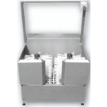 AZP BRNO RMO 02 myčka obuvi 960x1100mm, rotační, kartáčová, nerez ocel