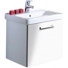 CONCEPT 300 skříňka pod umyvadlo 55,5x43x45cm závěsná, wenge/bílá