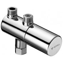 SCHELL rohový ventil s termostatem, chrom, 094060699