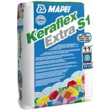 MAPEI KERAFLEX EXTRA S1 cementové lepidlo 25kg, tenkovrstvé, šedá
