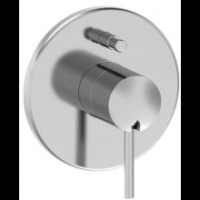 LAUFEN TWINPRIME PIN vrchní sada podomítkové vanové baterie, s přepínačem pro Simibox, chrom 3.2113.6.004.000.1
