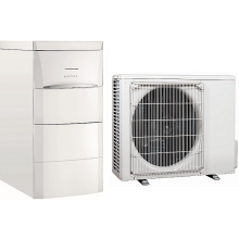 DE DIETRICH ALEZIO AWHP 6 MR/E V200 čerpadlo tepelné 6kW vzduch/voda, jednofázové napájení, zabudovaný elektrokotel, s ohřívačem na přípravu TV