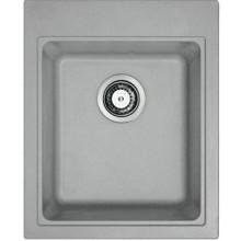 FRANKE KUBUS KSG 218 dřez 425x520mm, Fragranit DuraKleen Plus/šedý kámen