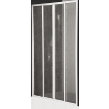 ROLTECHNIK CLASSIC LINE CD4/1100 sprchové dveře 1100x1836mm posuvné pro instalaci do niky, bílá/bark (kůra)