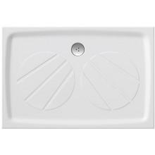 RAVAK GIGANT PRO sprchová vanička 1100x800mm z litého mramoru, extra plochá, obdélníková, bílá XA03D401010