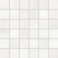 RAKO BOA mozaika 30x30cm, lepená na síťce, bílá
