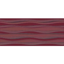 NAXOS PIXEL dekor 26x60,5cm, fascia Barcelona bordeaux 75128