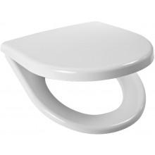 Sedátko WC MKW duraplastové Prima-Universal s hydraulickou brzdou-systém SLOW CLOSE  bílá