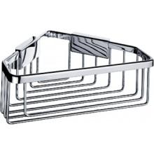Doplněk polička Nimco Kibo drátěná, rohová 22,5x22,5x8,5 cm