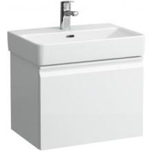 LAUFEN PRO S skříňka pod umyvadlo 550x380x390mm, se zásuvkou a vnitřní zásuvkou, bílá lesk
