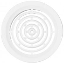 HACO VM 50 větrací mřížka prům. 46mm, kruhová, bez síťoviny, bílá