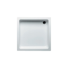 Vanička plastová Riho(JVP) čtverec Apollo DC0100500000000 DC01 80x80x13cm bílá