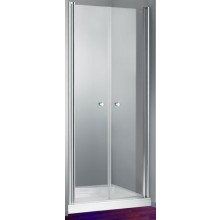 Zástěna sprchová boční Huppe sklo Design elegance 800x1900mm stříbrná matná/čiré AP
